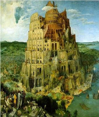 Tower of Babel Painted 1563